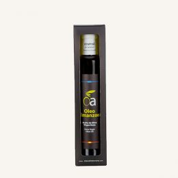 estuche 500 ml aceite virgen extra coupage oleo almanzora