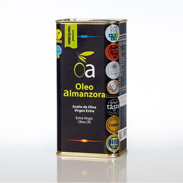 aceite Arbequina lata 500ml