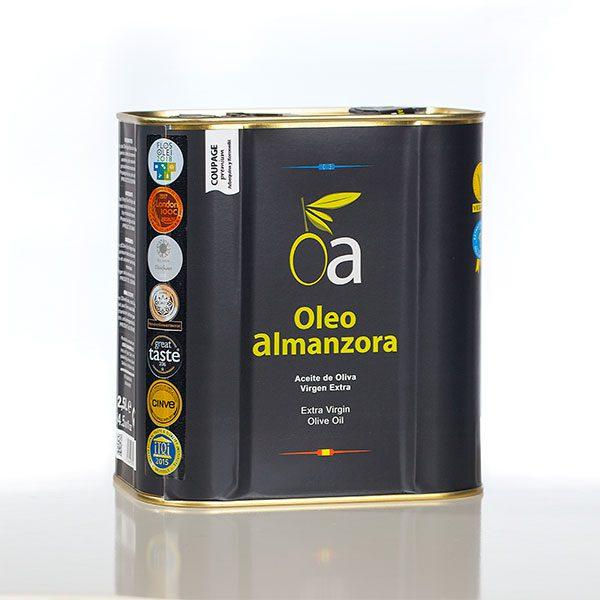 aceite Coupage Oleo Almanzora lata 2,5 Litros