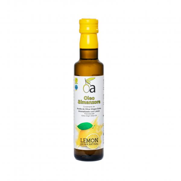 Condimento de aceite de oliva virgen extra con Limón