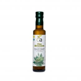 Condimento de Aceite de Oliva Virgen Extra con Romero.