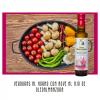 Verduras al horno con condimento de Aceite de oliva virgen extra con AJO.