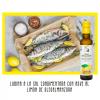 Lubina a la sal condimentado con Aove de Limón OleoAlmanzora.